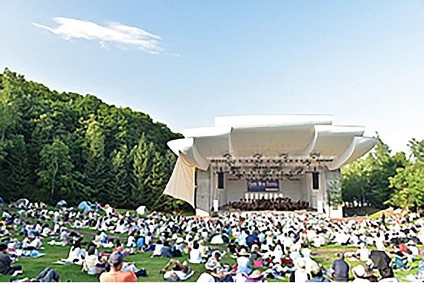 開放感あふれるピクニックコンサート