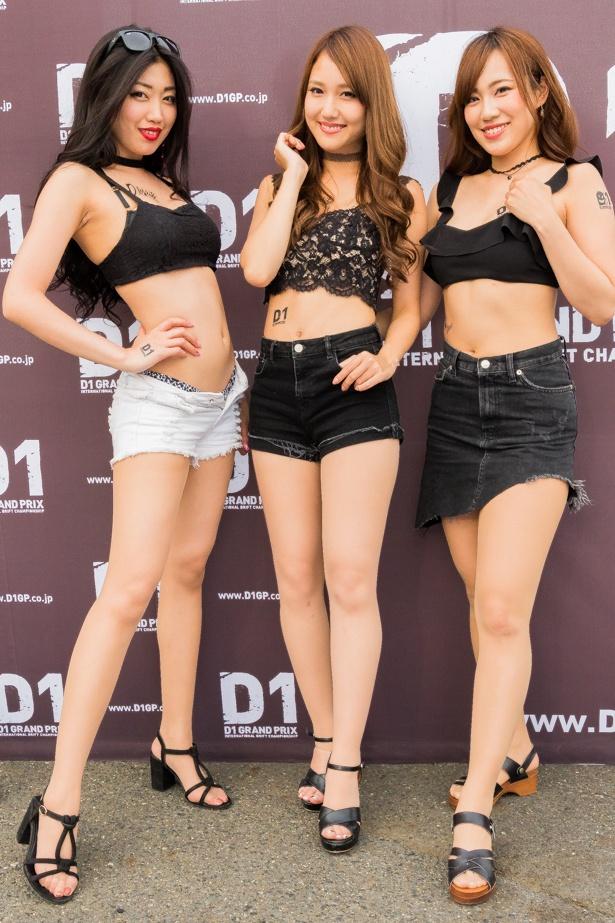 D1グランプリのイメージガールを務めるセクシー美女集団「D-LOVEits」 (ディー・ラビッツ)