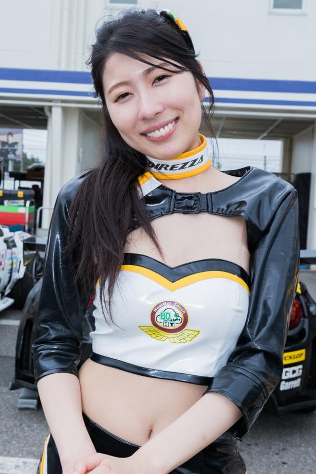 Team広島トヨタwithDRoo-Pのレースクイーン