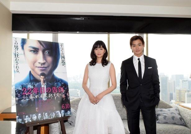 【写真を見る】石橋と野村は、映画にちなんだある告白をする