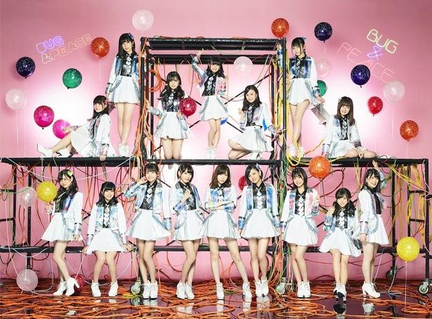 「THE MUSIC DAY」に出演するHKT48
