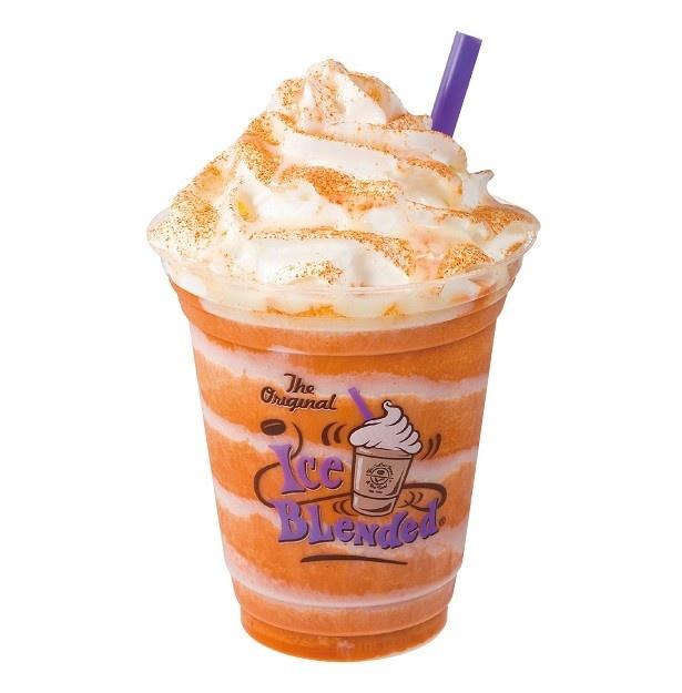 「オリエンタル タイティー アイスブレンディッド(Oriental Thai Tea Ice Blended® drink)」(Regular税別580円、Large税別660円)