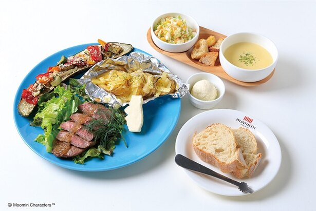 「For father's plate」(税別2000円)。17:30から毎日数量限定で提供