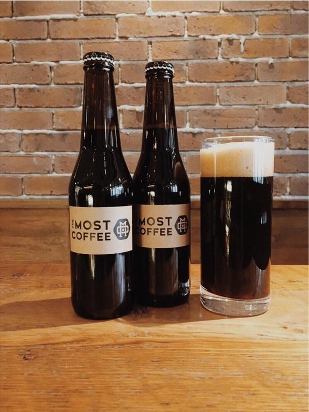 コーヒー豆を使用したビール「COFFEE STOUT」