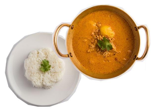 タイ本場の味が楽しめる「チェンマイ食堂 マイホーム」のマッサマンカレー(1200円)