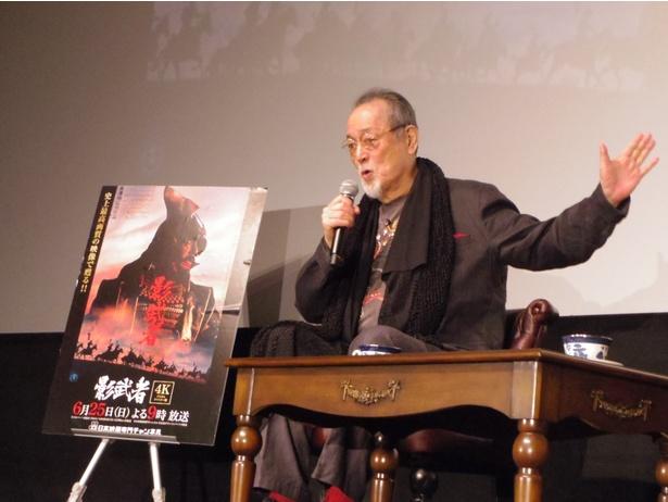 【写真を見る】仲代からは『影武者』に当初主演する予定だった勝新太郎とのエピソードも飛び出した