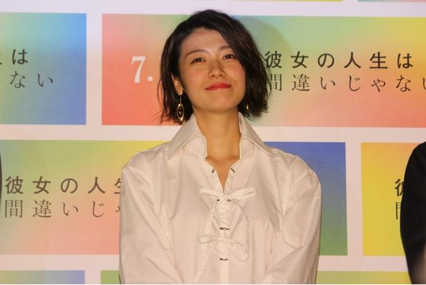デリヘル嬢・みゆき役の瀧内公美