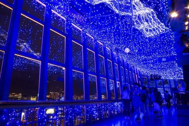 夏の浴衣スポット!東京湾納涼船×東京タワー天の川イルミネーション