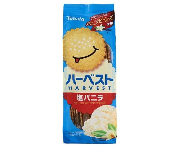 【写真を見る】「ハーベスト塩バニラ」(参考小売価格税別141円)