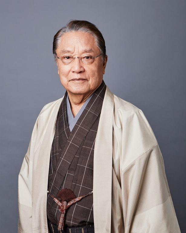 政財界のフィクサー・長谷川庄治を担当するのは伊東四朗