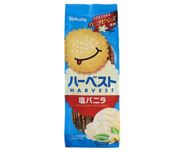 「ハーベスト塩バニラ」(参考小売価格税別141円)