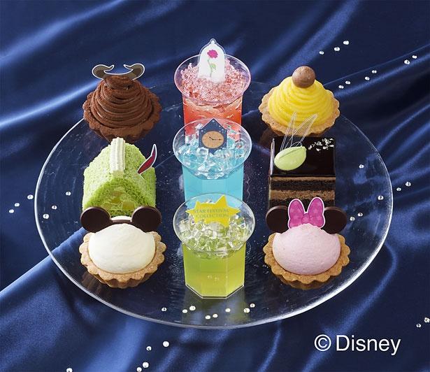 「ピーター・パン」や「美女と野獣」の世界をプチケーキで楽しもう!「プチガトー スターフェスティバル・コレクション(9個入)<ディズニー>」(2268円)