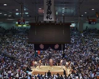 大相撲名古屋場所は今年で60周年を迎える