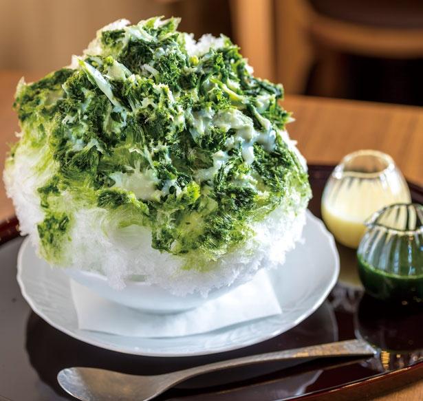 「濃厚宇治みるく」(1080円)/甘味と和食 香穂