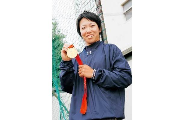 金メダルを獲得した北京オリンピックではキャプテンをつとめました