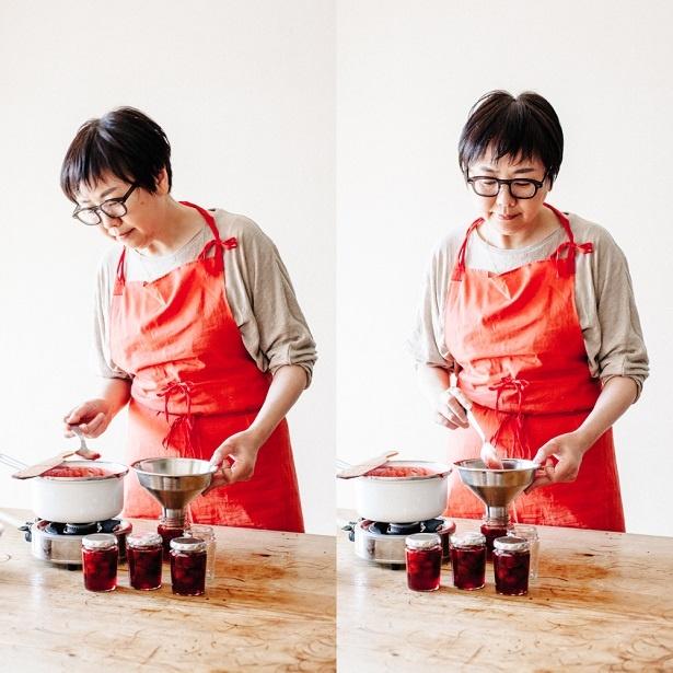 【写真を見る】菓子研究家・福田里香さんによるジャムブック「季節の果物でジャムを炊く 毎日おいしい63のレシピとアイディア」の発売を記念して実施される