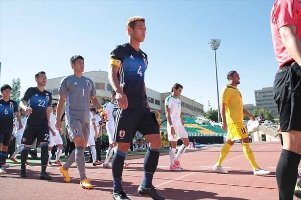 サッカー日本代表、世界への道!W杯アジア地区最終予選 「イラク代表×日本代表」1/10