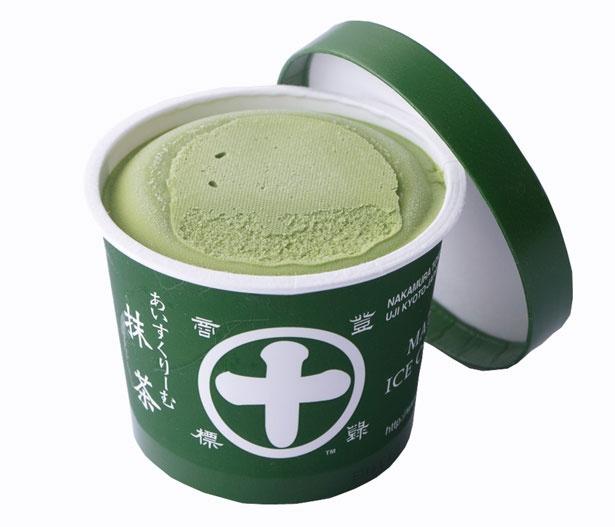 「抹茶アイスクリーム」(351円)/中村藤吉本店