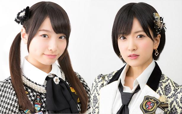 【写真を見る】速報16位の久保怜音(左)と17位の須藤凜々花(右)