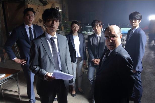 7月5日(水)に放送されるドラマ「検証捜査」の特命班チーム