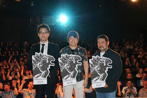 世界中のアニメファンが大熱狂!「GODZILLA 怪獣惑星」がフランスのアヌシー映画祭へ