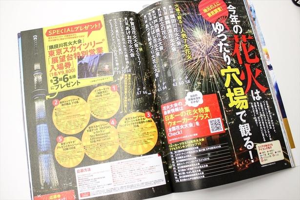 【写真を見る】好評発売中の「夏遊びランキング」から編集部員が、本当に行きたい花火大会を調査!