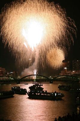 やはり強かった「墨田川花火大会」。今年は40回目のアニバーサリーイヤー