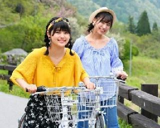 SKE48の北野瑠華と荒井優希が長野県阿智村を女子旅
