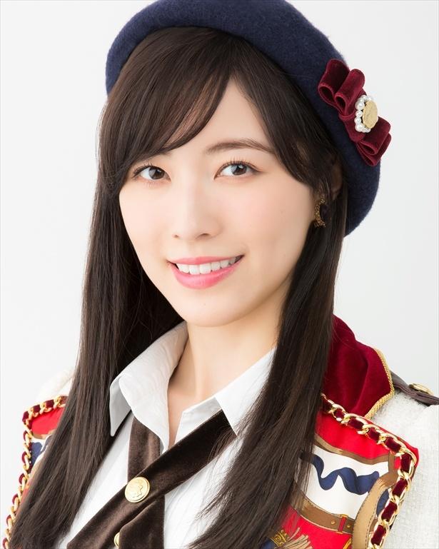 髪のアクセサリーが素敵な松井珠理奈さん