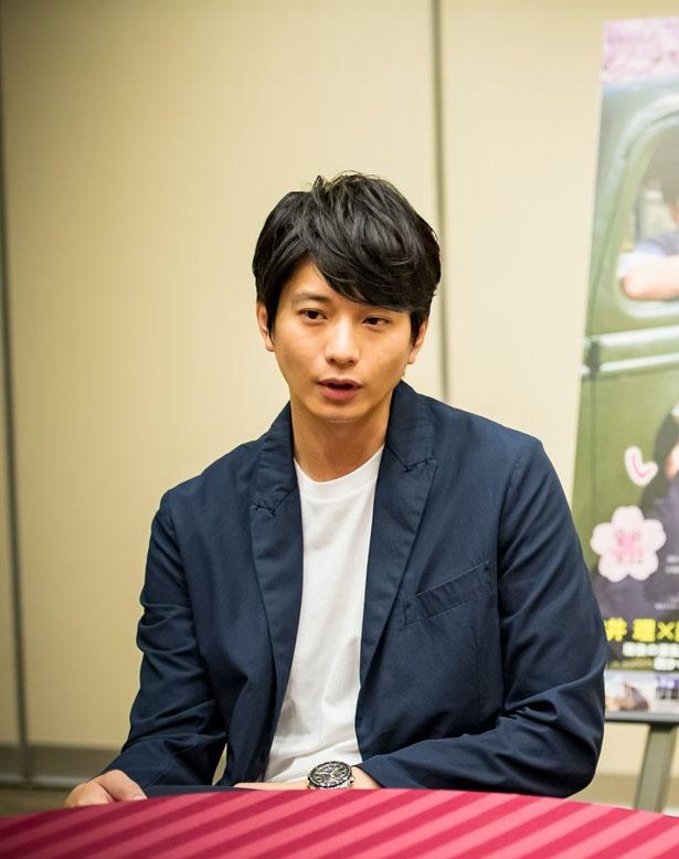 「日本男児のかっこよさが好き」と語る向井理