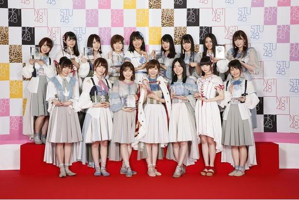 「AKB48 49thシングル選抜総選挙」の選抜メンバー