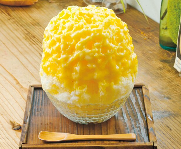 【写真を見る】「みっくすじゅーすカキ氷」(600円)/COCOO cafe