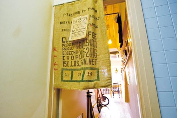 ビルの4階にある隠れ家的カフェ/COCOO cafe