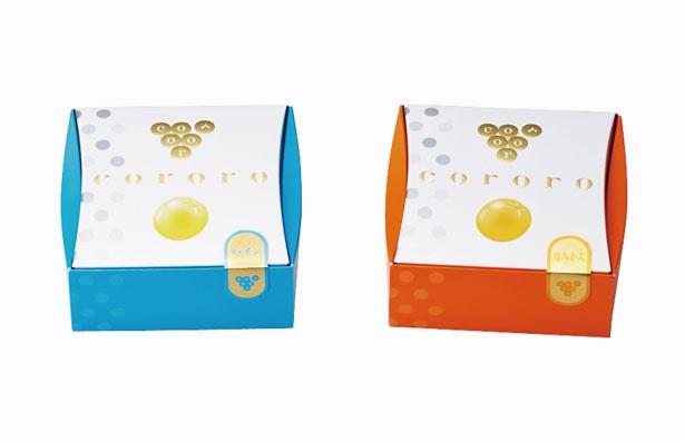 【写真を見る】新商品のcororoパイン(左・540円)と夏みかん(右・540円)