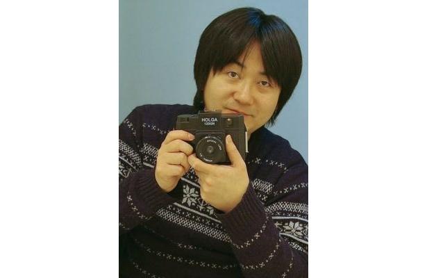 トイカメラ専門サークル「ホルガ会」主催の吹雪大樹さん(大阪府在住の写真映像作家)