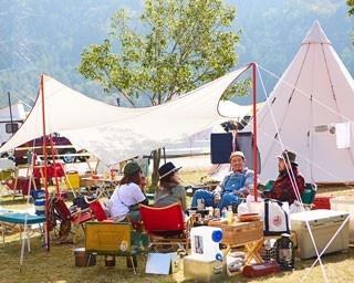 万博記念公園では初となるキャンプインフェスティバル