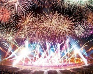 町の名物でもあるラベンダーをイメージした紫色のラベンダー花火が魅力の「なかふらのラベンダーまつり2017 花火大会」