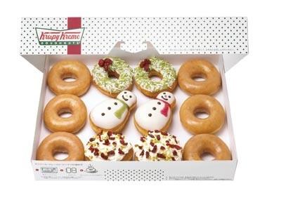 とにかくかわいい!クリスマスドーナツが大豊作!!