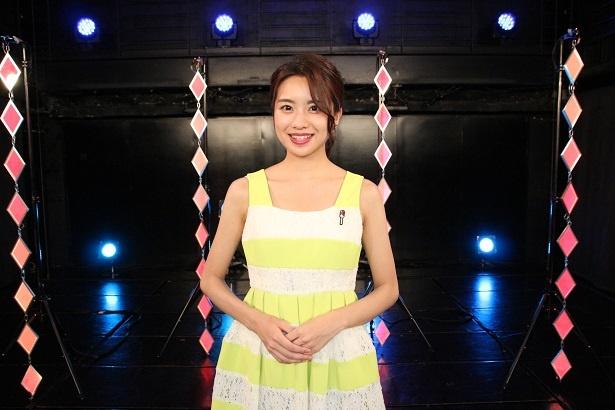 番組のアシスタントを務める曽田茉莉江