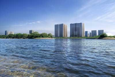 「Brillia 有明 Sky Tower」は、地上33階、地下1階、塔屋1階、総戸数1089戸にも及ぶ、首都圏最大級の超高級マンション