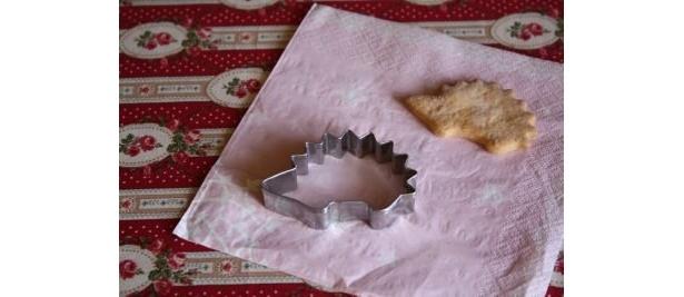 クッキーカッター(ハリネズミ) (各105円)