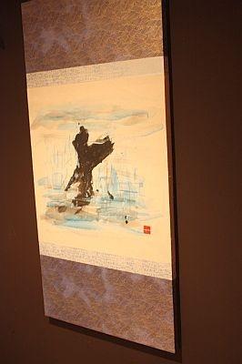 個室「室戸岬」の部屋に飾られた絵/龍馬邸