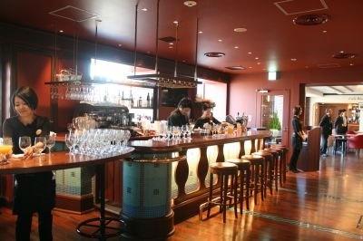 新しく加わった「OCEAN Casita Italian Seafood Grill(オーシャン カシータ イタリアン シーフード グリル)」店内の様子