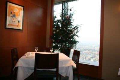 59階のフレンチ&ワインバー「オザミ・サンカントヌフ」