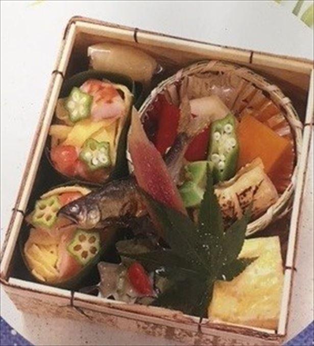 「七夕のお弁当~星に願いを~」(864円)