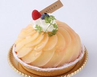 「桃のタルト」(1850円)