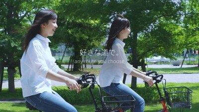 思わず自転車で走り出したくなる、爽快感満点のWEBムービーをぜひチェックしてみて!