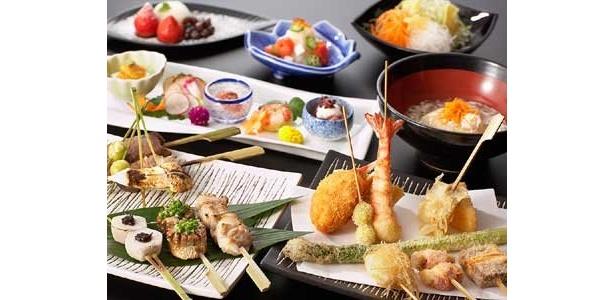 好きなものを食べられるだけでなく、カウンターで気兼ねなく食事できるというのも魅力の一つ