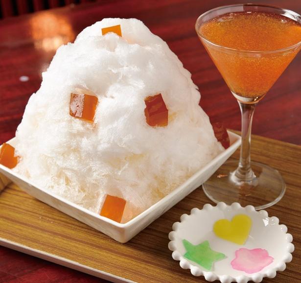 「味覚糖 純露かき氷」(700円)/かき氷専門店ドギャン