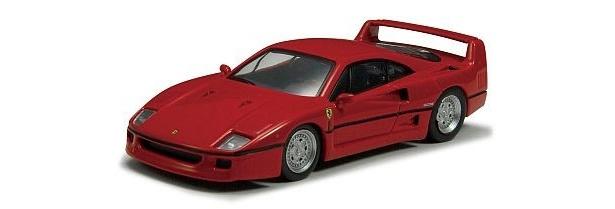 フェラーリ社創設40周年記念モデル。エンツォ・フェラーリが最後に開発指揮を執った「F40」